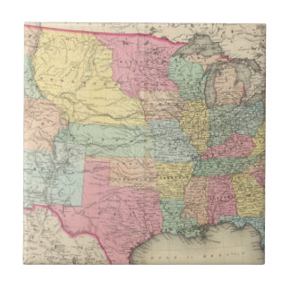 The United States Of America Tile