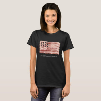 The United States of Bacon (for women) T-Shirt