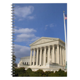 The United States Supreme Court Building in Notebook