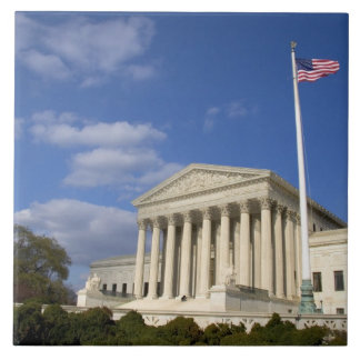 The United States Supreme Court Building in Tile