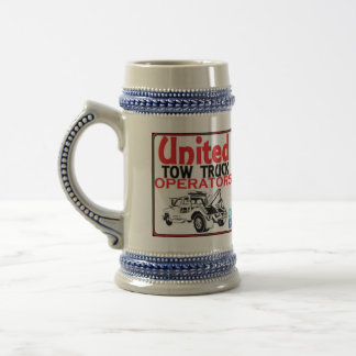 The United Tow Truck Operators Stein Mug