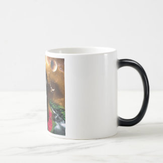 The Universal Consciousness is a Fierce Kitty Coffee Mugs
