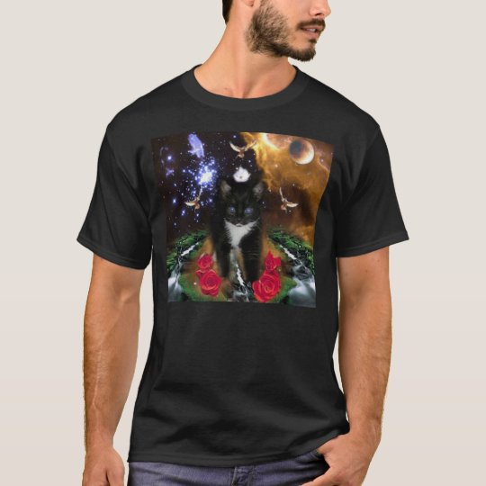 The Universal Consciousness is a Fierce Kitty T-Shirt