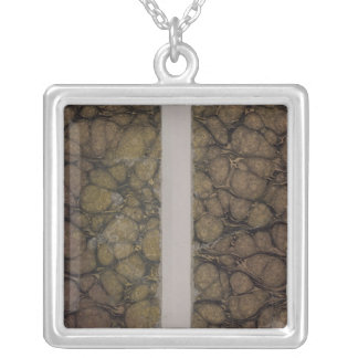 The Universe Atlas Classic Covers Silver Plated Necklace