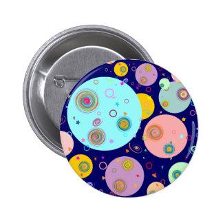 The Universe B2 6 Cm Round Badge