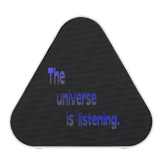 The Universe Is Listening