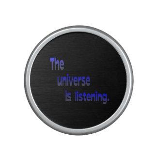 The Universe Is Listening Speaker