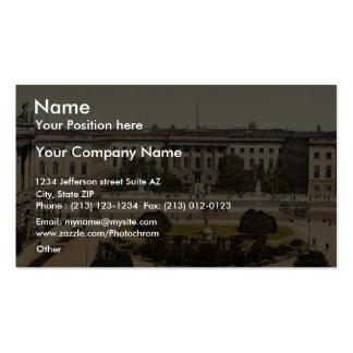 The University, Berlin, Germany rare Photochrom Business Cards