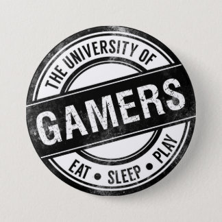 The University of Gamers Funny Button