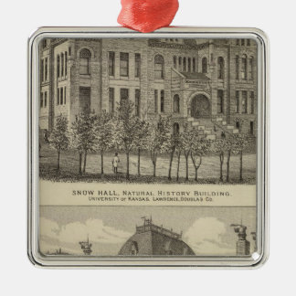 The University of Kansas Christmas Ornament