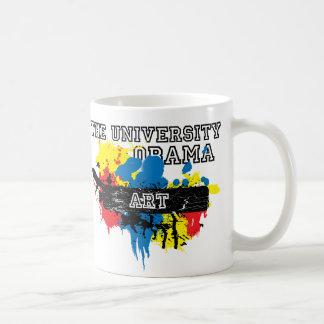 The University of Obama Art Dept Basic White Mug