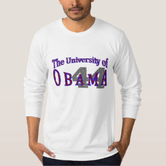 The University of Obama faded T-shirt