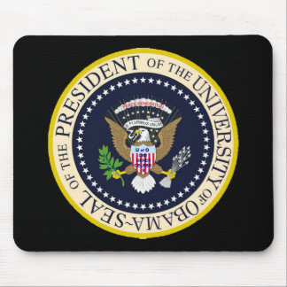 The University of Obama Presidential Seal Mouse Pad
