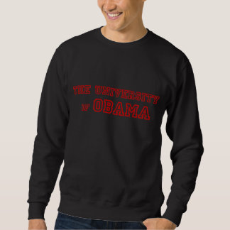 The University of Obama Pullover Sweatshirt