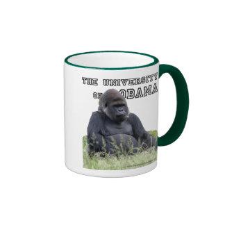 The University of Obama Zoology Dept Ringer Mug