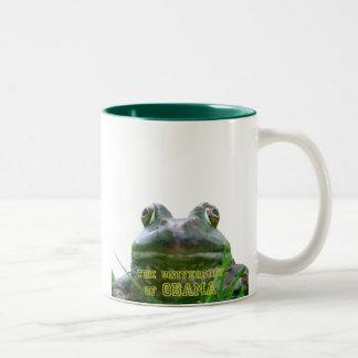 The University of Obama Zoology Dept. Two-Tone Mug