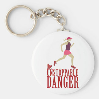 The Unstoppable Danger Key Ring