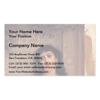 The Unwelcome Companion by John Waterhouse Business Cards