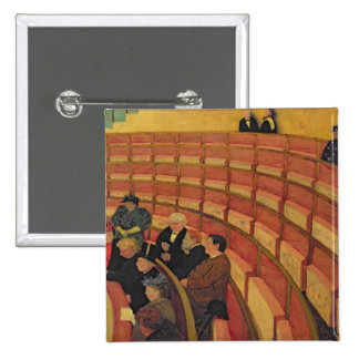 The Upper Circle at the Theatre du Chatelet 15 Cm Square Badge