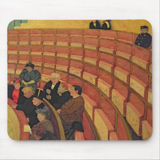 The Upper Circle at the Theatre du Chatelet Mouse Pad