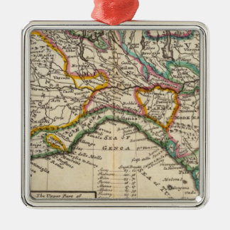 The upper part of Italy Christmas Ornament