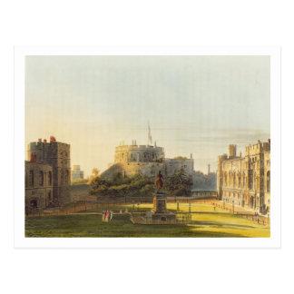 The Upper Ward, Windsor Castle, from 'Royal Reside Postcard