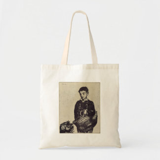 The urchin by Edouard Manet Canvas Bag