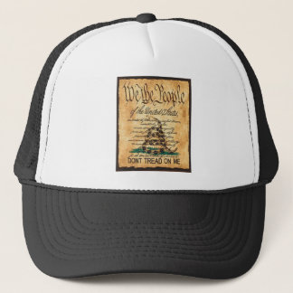 The US Constitution is Not Subversive Trucker Hat