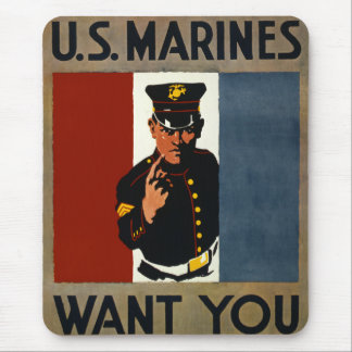 The US Marines Want You Mouse Mat
