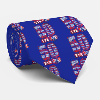 THE USA FIFTY STATES LIMITED ELEGANT EDITION TIE