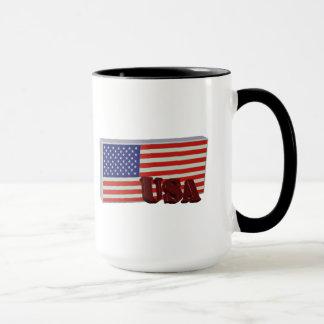 The USA flag 3D