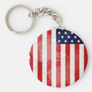 THE USA OLD FLAG KEY CHAINS