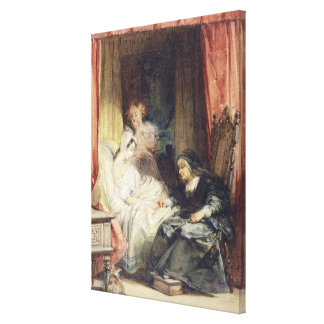 The Use of Tears, 1827 (w/c and bodycolour over gr Canvas Print