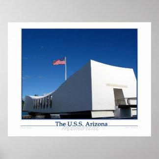 The USS ARIZONA Poster