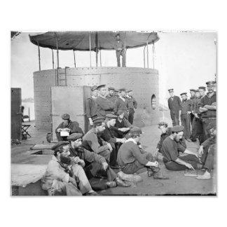 The USS Monitor, July 9, 1862 Photo Art