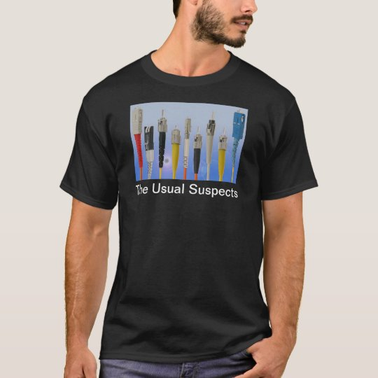 The Usual Suspects (Optical Fibre) T-Shirt