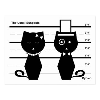 The Usual Suspects Postcard
