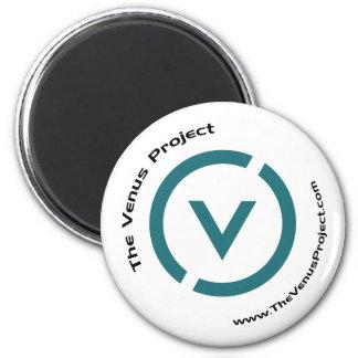 The V 6 Cm Round Magnet
