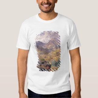 The Val d'Aosta, 1858 (oil on canvas) Tee Shirt