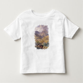 The Val d'Aosta, 1858 (oil on canvas) Toddler T-Shirt