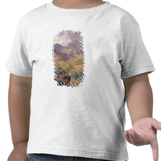 The Val d'Aosta, 1858 (oil on canvas) Tee Shirts