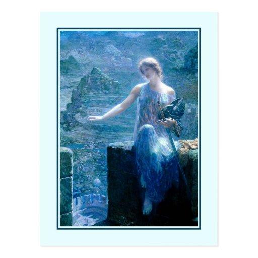 'The Valkyrie's Vigil' Post Card