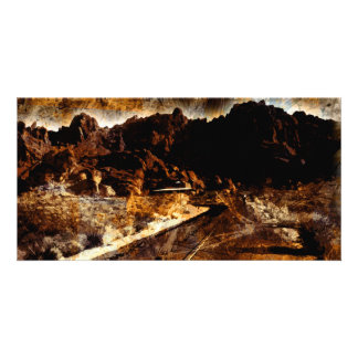 The Valley of Fire Custom Photo Card