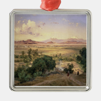 The Valley of Mexico from the Low Ridge of Tacubay Christmas Ornament