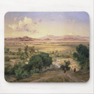 The Valley of Mexico from the Low Ridge of Tacubay Mouse Mat