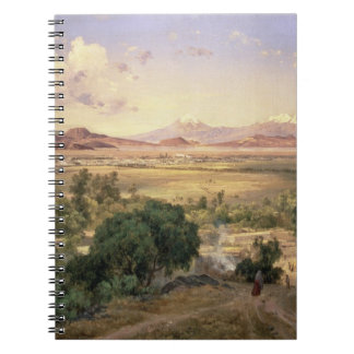 The Valley of Mexico from the Low Ridge of Tacubay Notebook