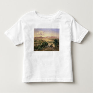 The Valley of Mexico from the Low Ridge of Tacubay Toddler T-Shirt