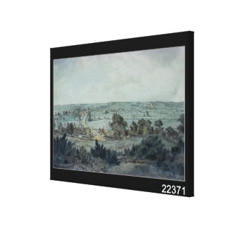 The Valley of the Stour Canvas Print