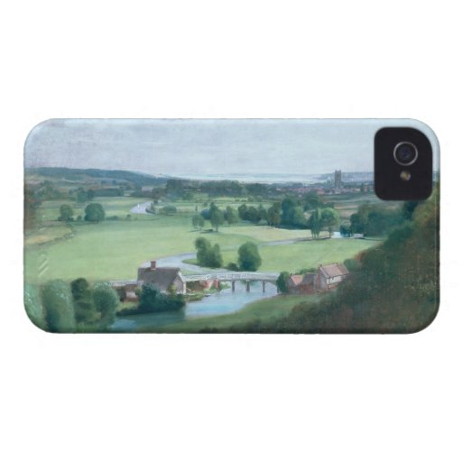 The Valley of the Stour with Dedham in the Distanc iPhone 4 Cover