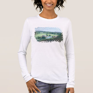 The Valley of the Stour with Dedham in the Distanc Long Sleeve T-Shirt